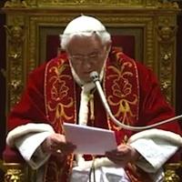 Benedykt XVI żegna się z Kolegium Kardynalskim [pełny tekst]