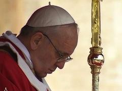 Homilia Ojca Świętego Franciszka w Niedzielę Palmową