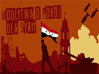 Modlitwa o pokój w Syrii