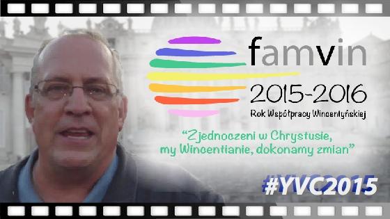 Ksiądz Gregory Gay prezentuje cel Roku Współpracy Wincetyńskiej [video] [tekst]