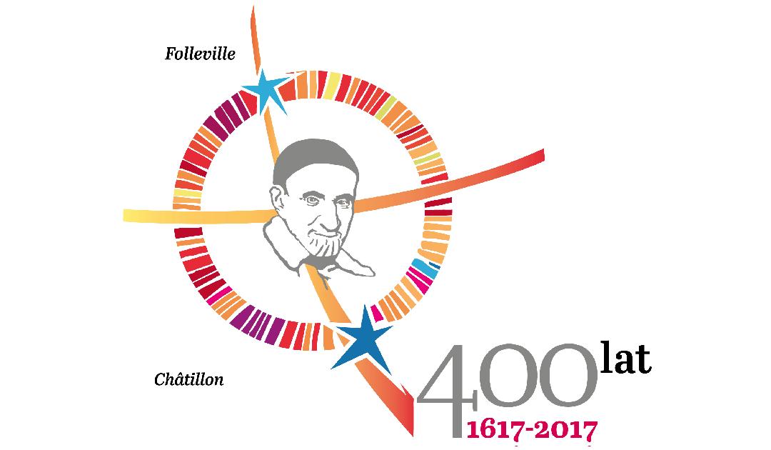 Logo 400. rocznicy charyzmatu wincentyńskiego