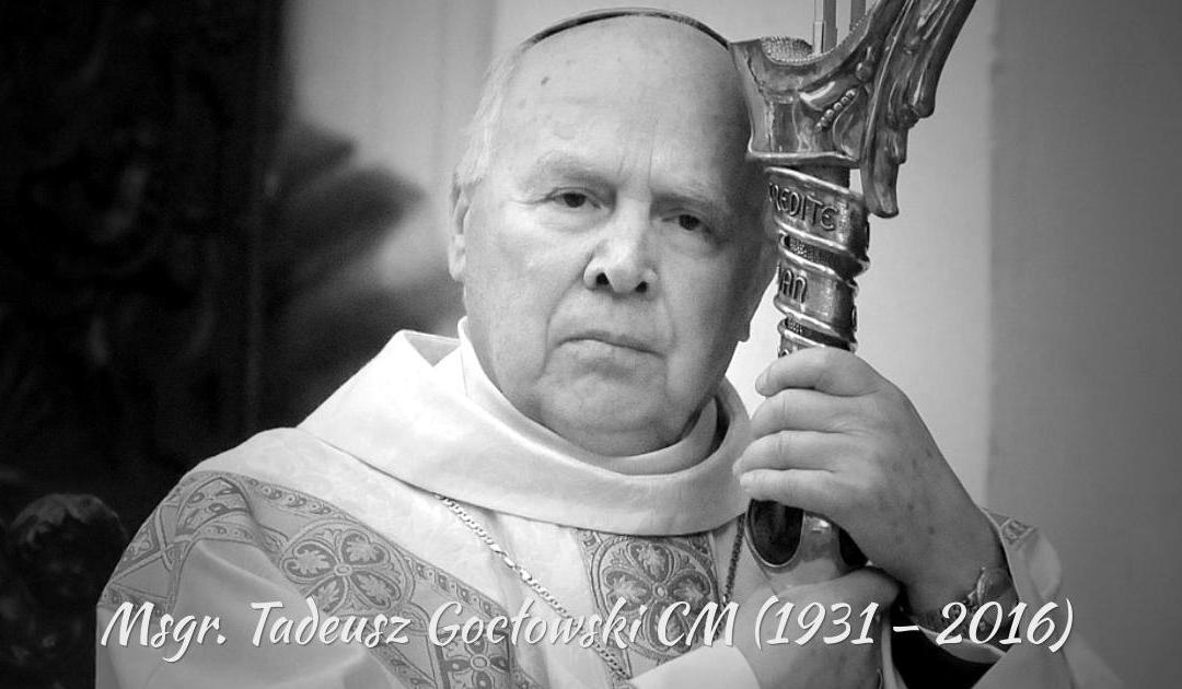 Zmarł Arcybiskup Tadeusz Gocłowski CM
