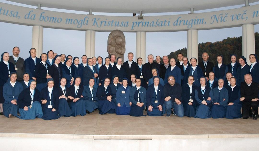 Spotkanie Rad Prowincji słowiańskich Sióstr Miłosierdzia w Celje, Słowenia