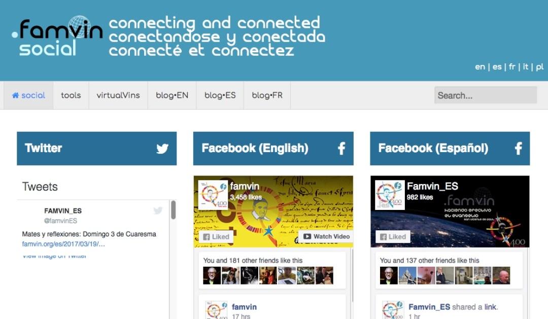 Przebudowa .famvin digital network