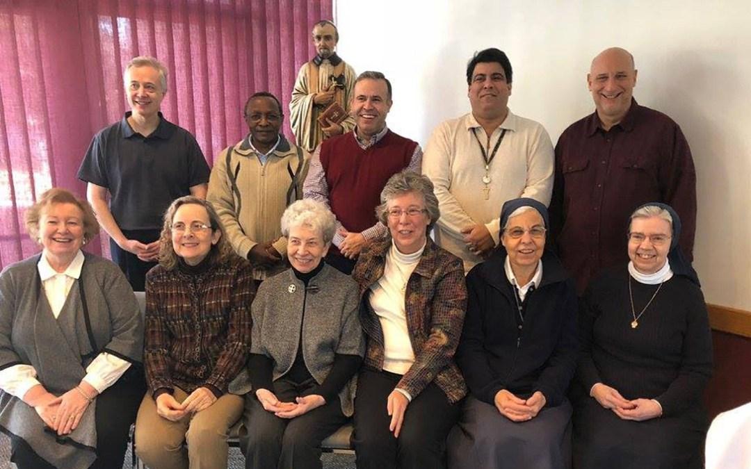 Komitet Wykonawczy Rodziny Wincentyńskiej, styczeń 2018