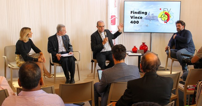 """""""Odnaleźć Wincentego 400"""" – Konferencja prasowa podczas Festiwalu Filmowego w Wenecji"""