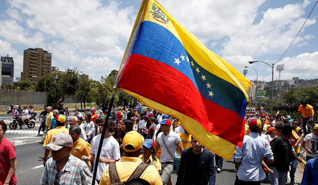 Wenezuelczycy! Jesteśmy z Wami!