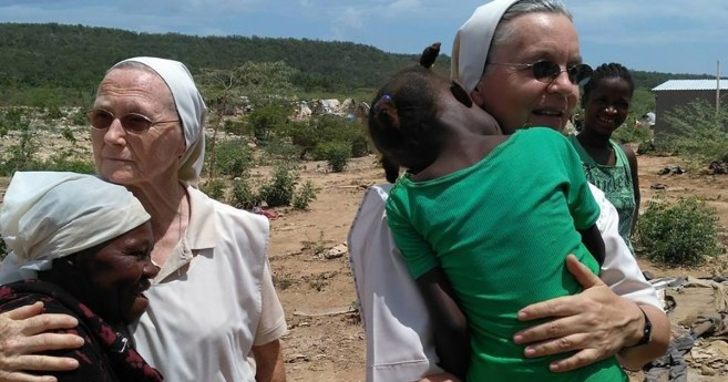 Milcząca praca Sióstr Miłosierdzia w Haiti