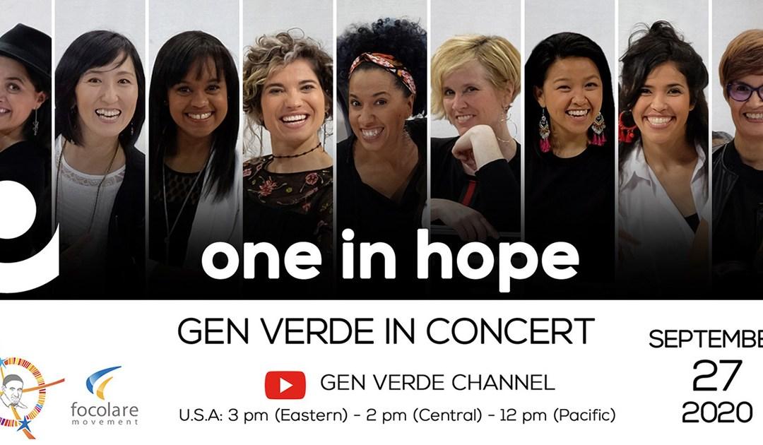 Koncert Gen Verde live inspirowany życiem i dziełami św. Wincentego a Paulo