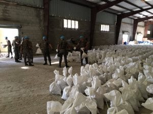 Ajuda humanitária para o Haiti (Minustah)