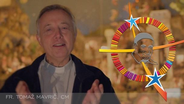 Saudação de Natal do padre Tomaž Mavrič à Família Vicentina