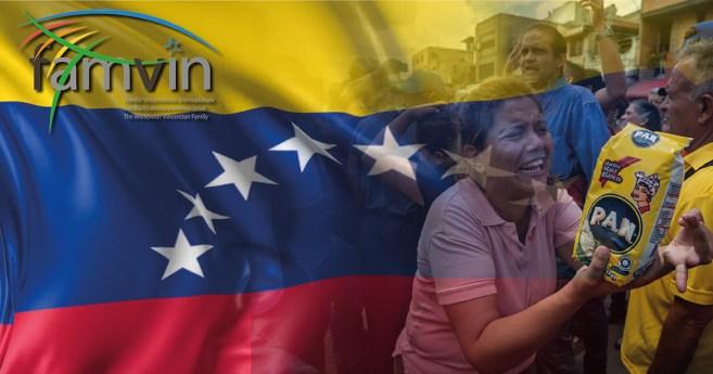 Declaração da Família Vicentina em solidariedade com o povo da Venezuela