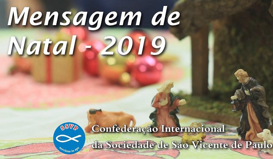 Mensagem de Natal de Renato Lima, Presidente Geral da Sociedade de São Vicente de Paulo
