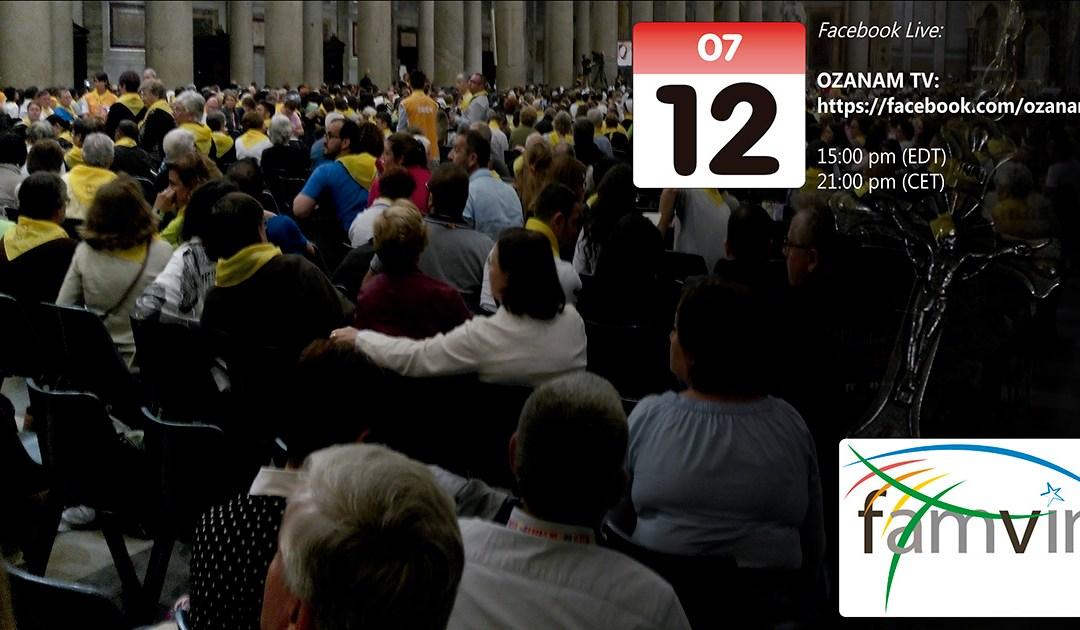Só faltam dois dias: Una-se à toda Família Vicentina no encontro de oração de 12 de julho