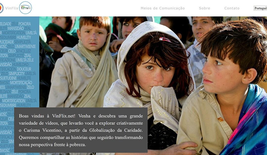 Vinflix: uma nova e grande ferramenta de comunicação para a Família Vicentina