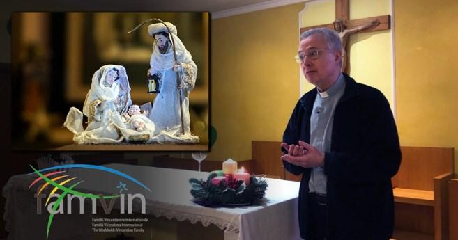 Mensagem de Natal 2020 do Padre Tomaž Mavrič, C.M., Presidente do Comitê Executivo da Família Vicentina