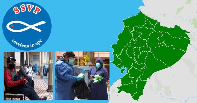 Vicentinos em Equador lutam contra a Pandemia
