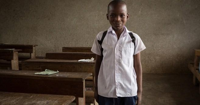 A educação é uma porta para a esperança