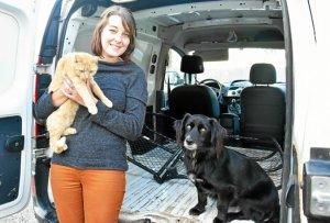 Léon & Milya dans la presse – Activité de Taxi Animalier 🚕