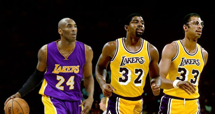 All-Time Lakers Lineup