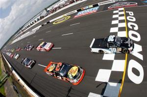 NASCAR Camping World Truck Series Pocono Mountains 125 at Pocono Raceway on August 4, 2012  Photo - Getty Images