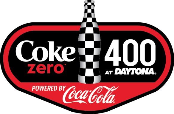 Coke Zero 400 full color on white bkg logo