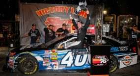 Anthony Alfredo on Fan4Racing Radio, Monday, May 14, 2018, at 9 pm ET Photo - Barry Cantrell/NKP