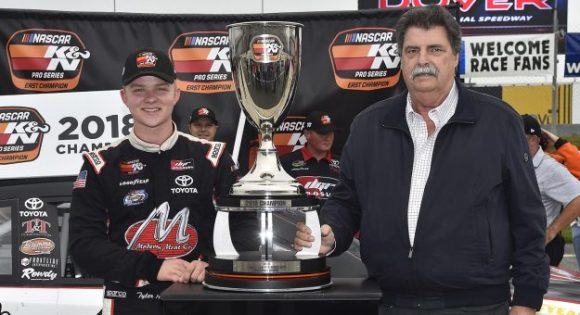 Tyler Ankrum on Fan4Racing Radio, Monday, October 8, 2018 at 9 pm ET. Photo - NKP