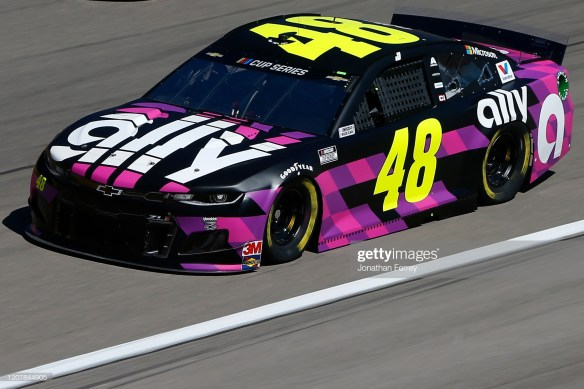 Jimmie Johnson at Las Vegas Motor Speedway with first Top-Five finish since 2019 July race at Daytona.