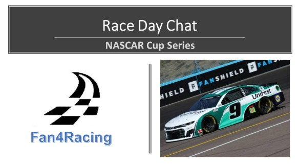Phoenix Raceway Race Day Chat with the Fan4Racing crew.