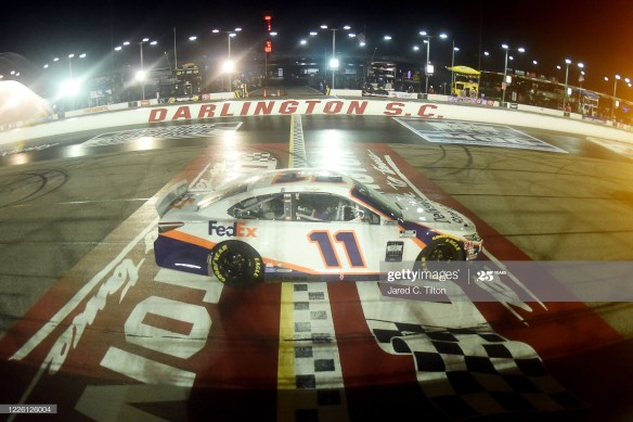 Hamlin's win in the Toyota 500 at Darlington Raceway makes him the second driver with multiple NASCAR Cup Series victories this year.