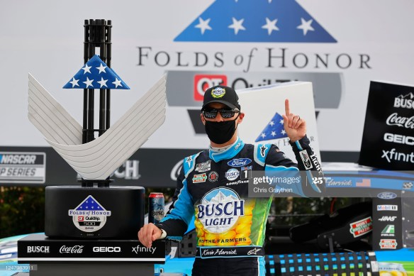 Kevin Harvick continues dominance in the NASCAR Cup Series, Folds of Honor QuikTrip 500 at Atlanta Motor Speedway on Sunday.