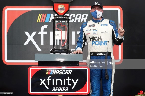 Briscoe gets the fifth win of 2020 in the Xfinity Series at his home track, Indianapolis Motor Speedway road course in the Pennzoil 150 on Saturday, July 4th.