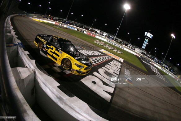 Brad Keselowski advances with Richmond win in the NASCAR Cup Series Federated Auto Parts 400 on Saturday night in Richmond, Virginia