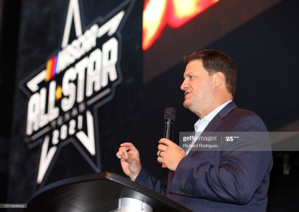 NASCAR's 2021 Cup Schedule shows plenty of changes for next season in an announcement on Wednesday from NASCAR Executive Vice President Steve O'Donnell at Texas Motor Speedway.