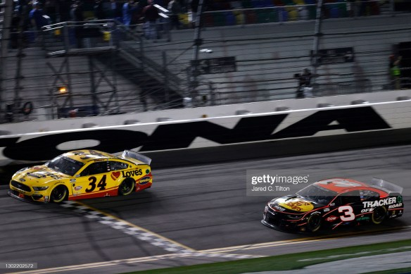 Michael McDowell's late push in the NASCAR Cup Series Daytona 500 finally earns him a career victory at Daytona International Speedway.