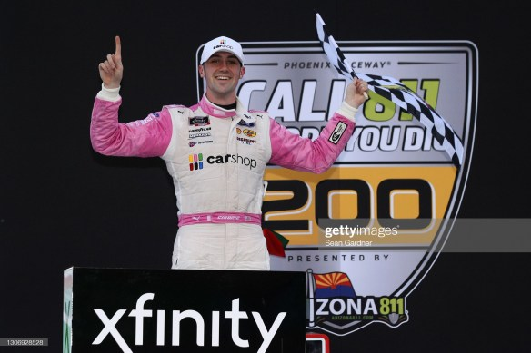 Austin Cindric makes a championship statement with a win in the NASCAR Xfinity Series, Call 811 Before You Dig 200 at Phoenix Raceway.