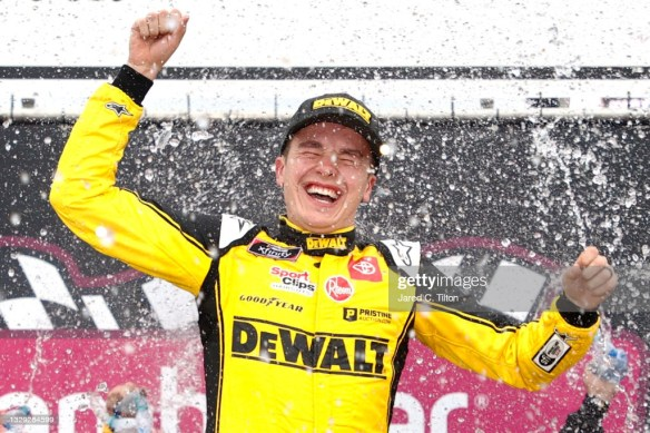 Christopher Bell wins third straight Xfinity race at New Hampshire Motor Speedway in the Ambetter Get Vaccinated 200 on Saturday afternoon.