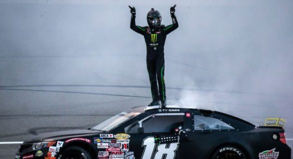 Ty Gibbs conquers Michigan for his eighth ARCA win in the Henry Ford Health Systems 200 at Michigan International Speedway.
