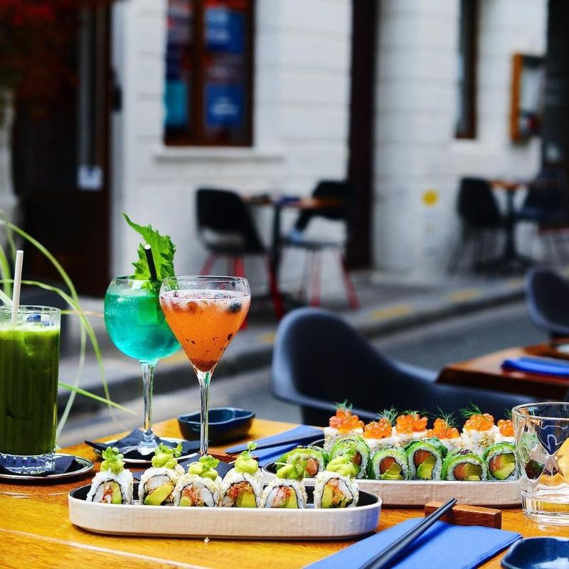 Blueberry Maki Bar Paris Terrace