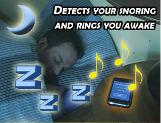 stop snoring and alarm