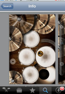 Drums iPhone app review