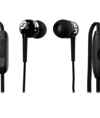 Sennheiser MM 70 iP Ear-canal Headset with 3-Button Smart Remote