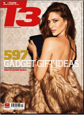 10 Sexiest Gadget Magazine Covers!