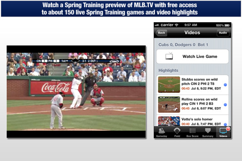 MLB com At Bat 11 iphone app review