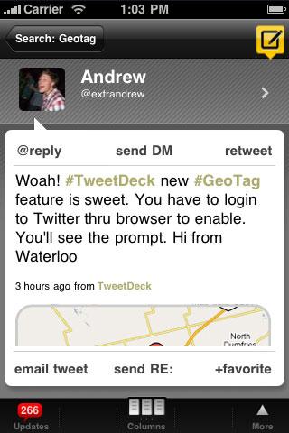 Tweetdeck iphone app review