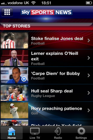 sky sport news iphone app review