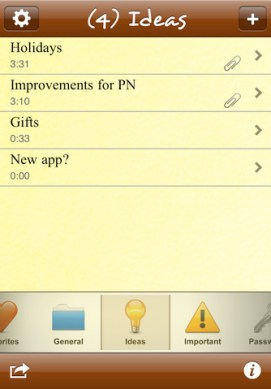 Pocket Notes iPhone App Review