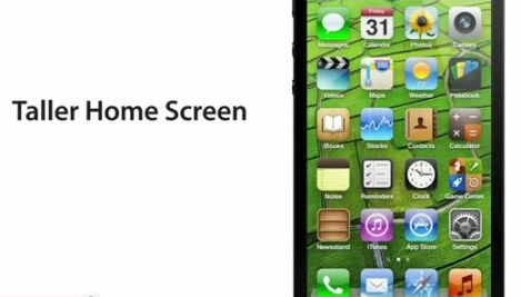 taller home screen
