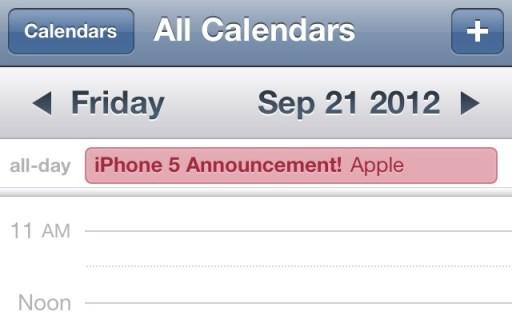 iphone 5 release date